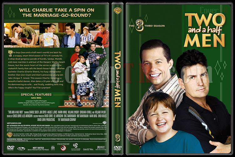 Two and a Half Men (Seasons 1-10) - Custom Dvd Cover Set - English [2003-?]-3jpg