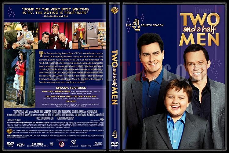 Two and a Half Men (Seasons 1-10) - Custom Dvd Cover Set - English [2003-?]-4jpg
