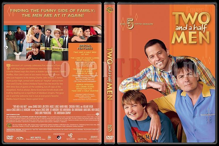 Two and a Half Men (Seasons 1-10) - Custom Dvd Cover Set - English [2003-?]-5jpg