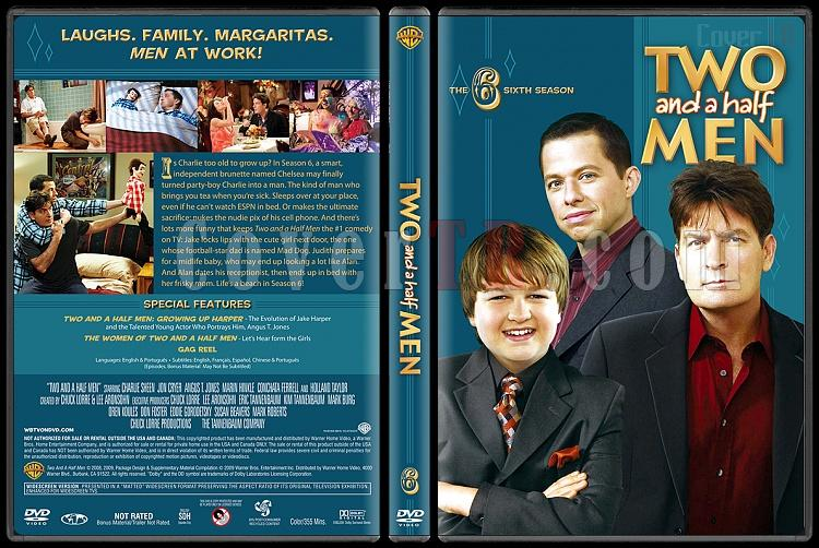 Two and a Half Men (Seasons 1-10) - Custom Dvd Cover Set - English [2003-?]-6jpg