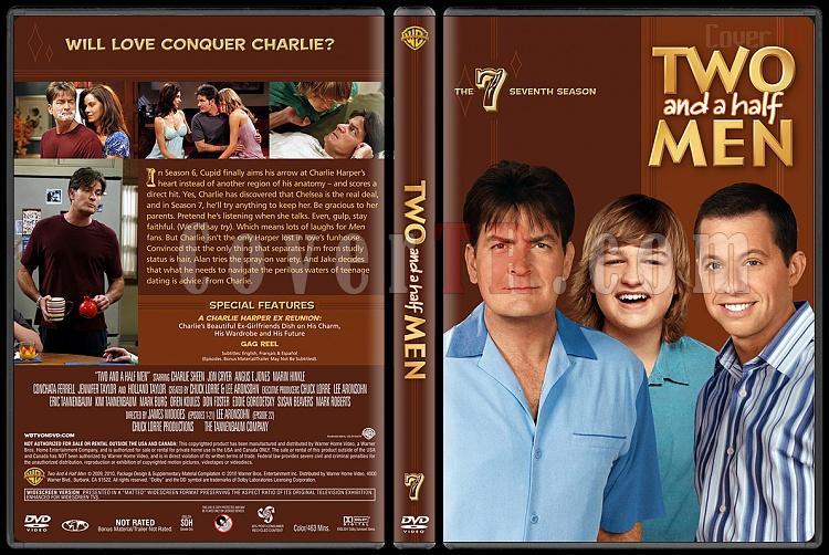 Two and a Half Men (Seasons 1-10) - Custom Dvd Cover Set - English [2003-?]-7jpg