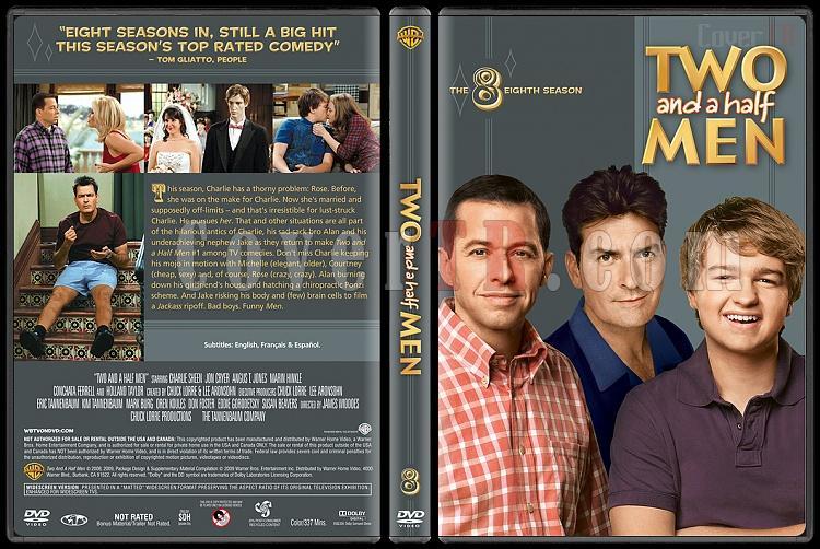 Two and a Half Men (Seasons 1-10) - Custom Dvd Cover Set - English [2003-?]-8jpg