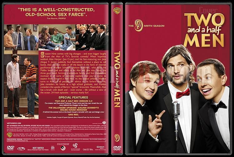 Two and a Half Men (Seasons 1-10) - Custom Dvd Cover Set - English [2003-?]-9jpg