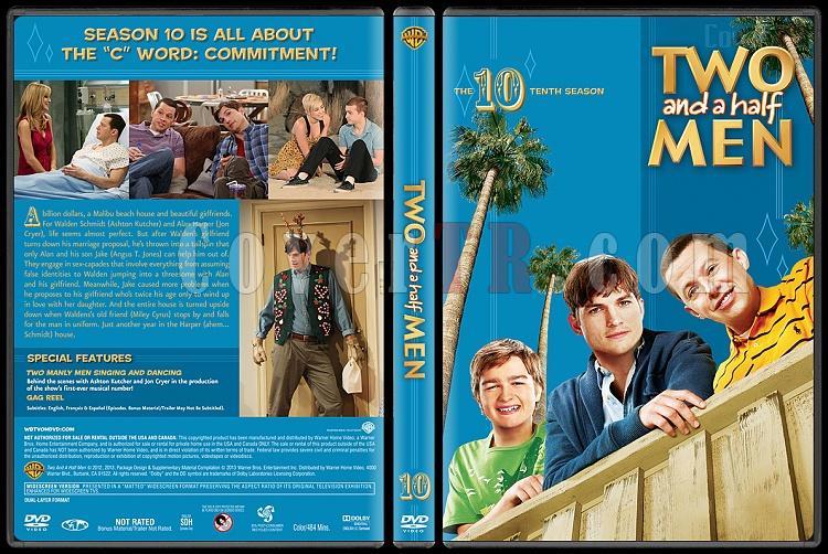 Two and a Half Men (Seasons 1-10) - Custom Dvd Cover Set - English [2003-?]-10jpg