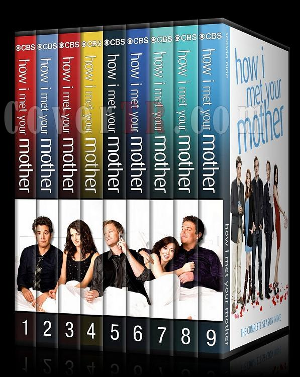 How I Met Your Mother (Seasons 1-9) - Custom Dvd Cover Set - English [2005-2014]-0jpg