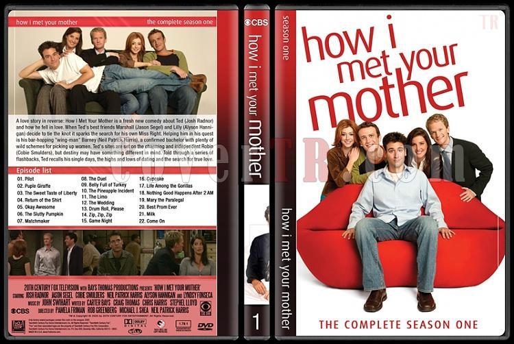 How I Met Your Mother (Seasons 1-9) - Custom Dvd Cover Set - English [2005-2014]-1jpg