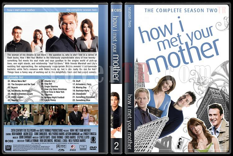 How I Met Your Mother (Seasons 1-9) - Custom Dvd Cover Set - English [2005-2014]-2jpg