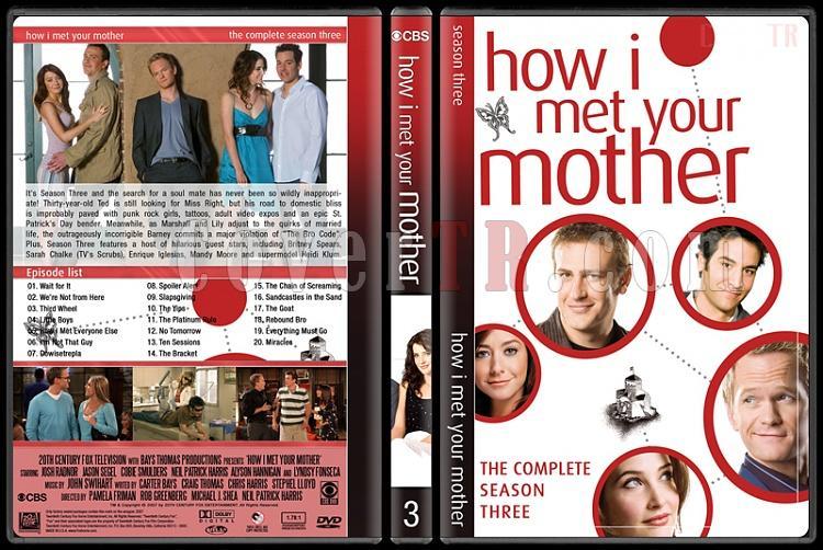 How I Met Your Mother (Seasons 1-9) - Custom Dvd Cover Set - English [2005-2014]-3jpg