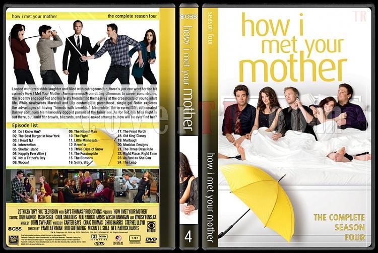 How I Met Your Mother (Seasons 1-9) - Custom Dvd Cover Set - English [2005-2014]-4jpg