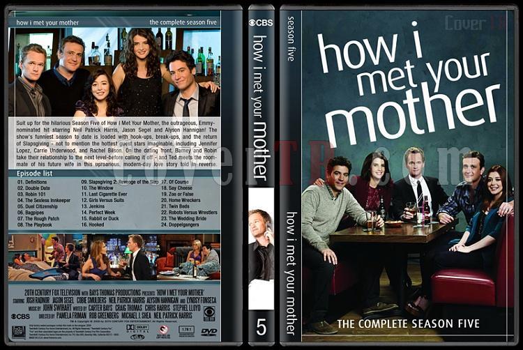 How I Met Your Mother (Seasons 1-9) - Custom Dvd Cover Set - English [2005-2014]-5jpg