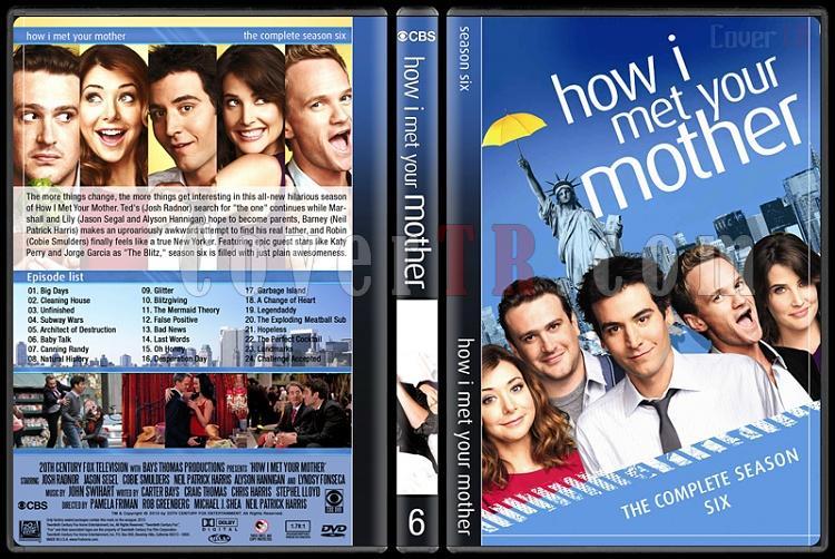How I Met Your Mother (Seasons 1-9) - Custom Dvd Cover Set - English [2005-2014]-6jpg