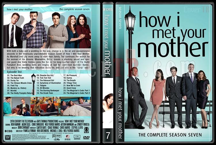 How I Met Your Mother (Seasons 1-9) - Custom Dvd Cover Set - English [2005-2014]-7jpg