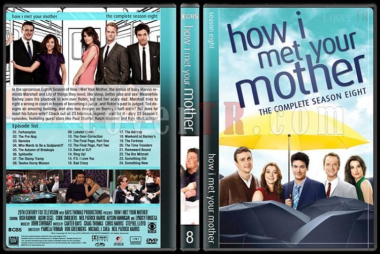 How I Met Your Mother (Seasons 1-9) - Custom Dvd Cover Set - English [2005-2014]-8jpg