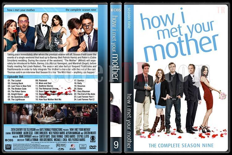 How I Met Your Mother (Seasons 1-9) - Custom Dvd Cover Set - English [2005-2014]-9jpg