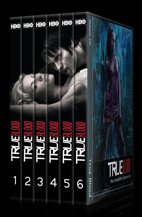 True Blood (Seasons 1-6) - Custom Dvd Cover Set - English [2008-?]-00jpg