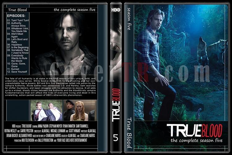 True Blood (Seasons 1-6) - Custom Dvd Cover Set - English [2008-?]-5jpg