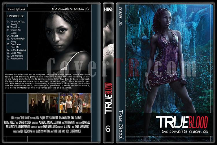True Blood (Seasons 1-6) - Custom Dvd Cover Set - English [2008-?]-6jpg