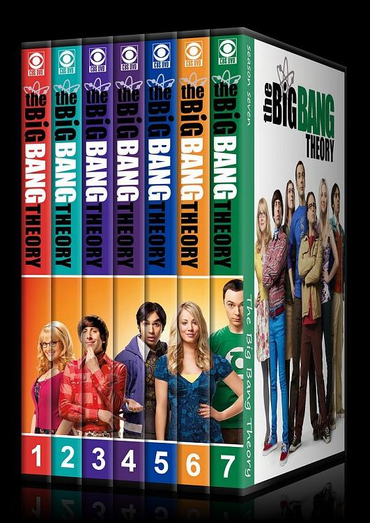 The Big Bang Theory (Seasons 1-7) - Custom Dvd Cover Set - English [2007–?]-00jpg
