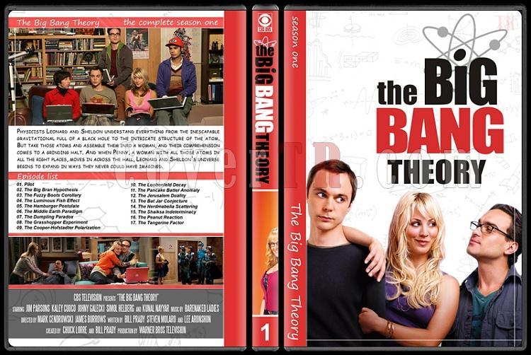 The Big Bang Theory (Seasons 1-7) - Custom Dvd Cover Set - English [2007–?]-1jpg