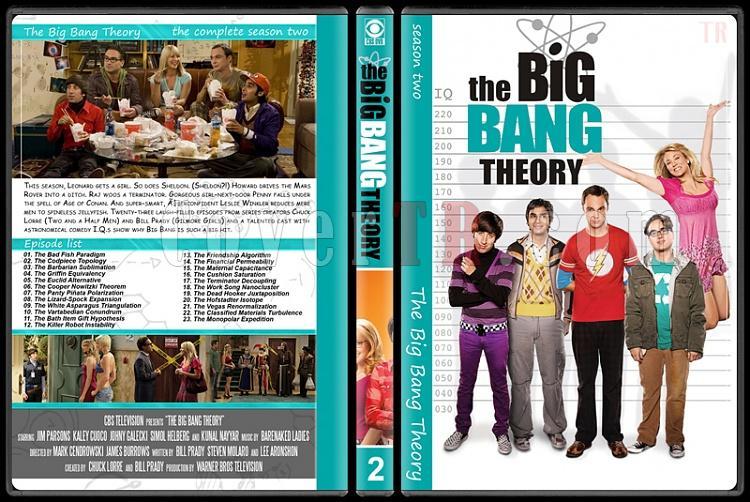 The Big Bang Theory (Seasons 1-7) - Custom Dvd Cover Set - English [2007–?]-2jpg