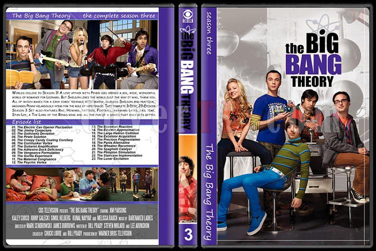 The Big Bang Theory (Seasons 1-7) - Custom Dvd Cover Set - English [2007–?]-3jpg