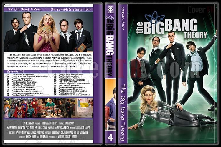 The Big Bang Theory (Seasons 1-7) - Custom Dvd Cover Set - English [2007–?]-4jpg