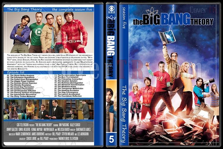 The Big Bang Theory (Seasons 1-7) - Custom Dvd Cover Set - English [2007–?]-5jpg