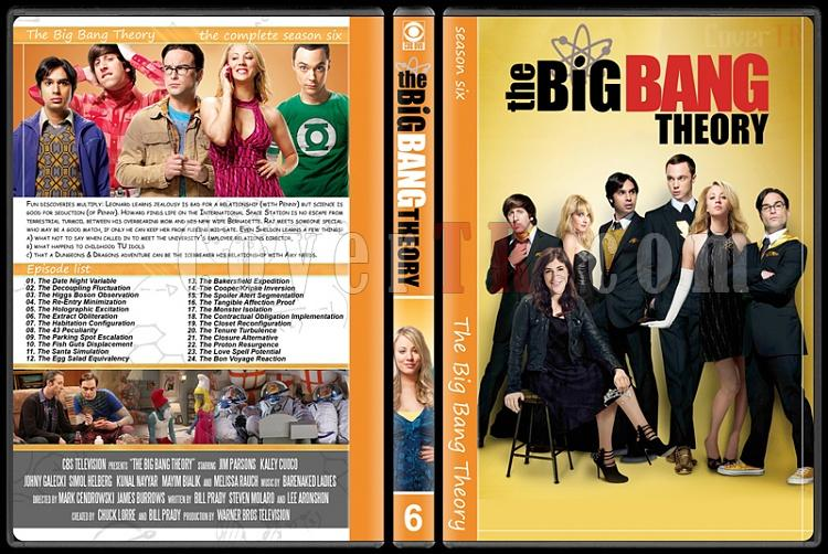 The Big Bang Theory (Seasons 1-7) - Custom Dvd Cover Set - English [2007–?]-6jpg