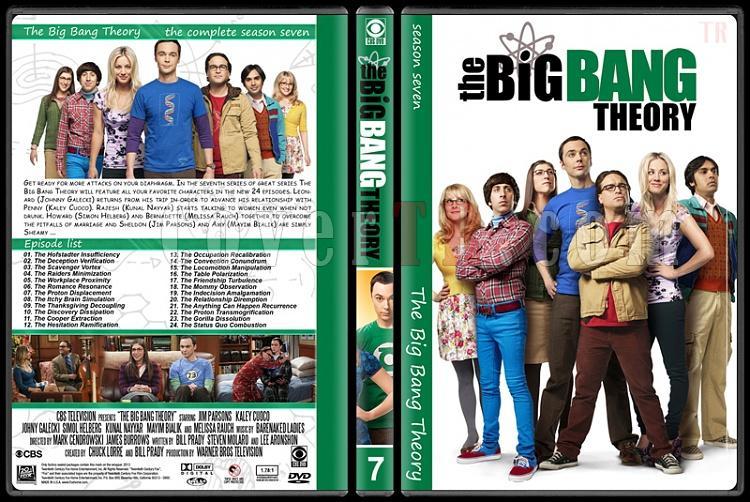 The Big Bang Theory (Seasons 1-7) - Custom Dvd Cover Set - English [2007–?]-7jpg