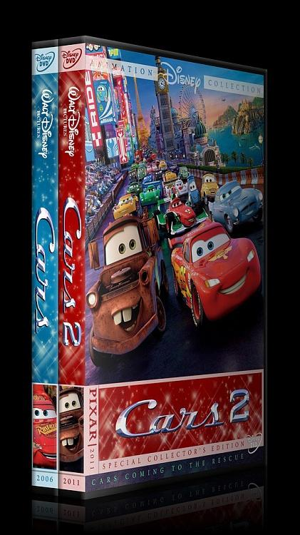 Cars Collection Custom Dvd Cover Set English 2006 2011 Covertr