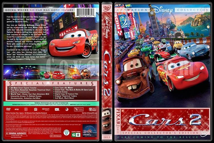 Cars Collection - Custom Dvd Cover Set - English [2006-2011]-cars-2jpg
