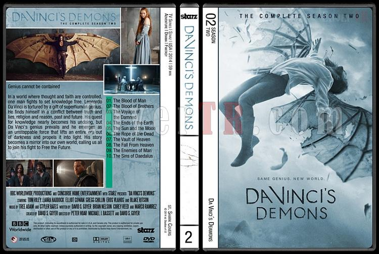 Da Vinci's Demons (Seasons 1-2) - Custom Dvd Cover - English [2013- ?]-da-vincis-demons-season-2jpg