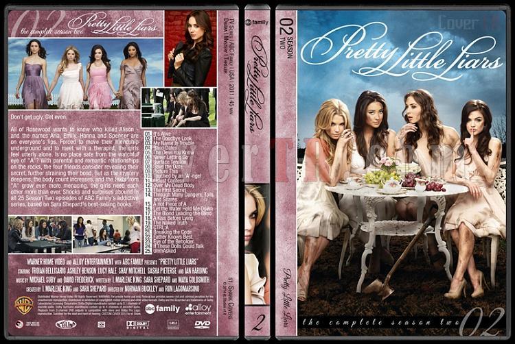 Pretty Little Liars (Seasons 1-5) - Custom Dvd Cover - English [2010- ?]-pretty-little-liars-season-2jpg