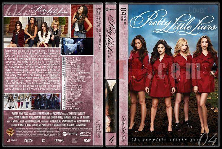 Pretty Little Liars (Seasons 1-5) - Custom Dvd Cover - English [2010- ?]-pretty-little-liars-season-4jpg
