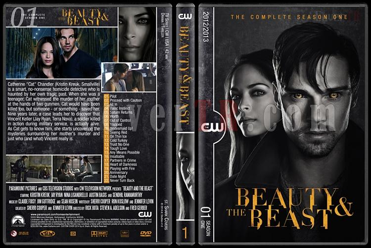 Beauty And The Beast (Seasons 1-2) - Custom Dvd Cover Set - English [2012-?]-s1jpg