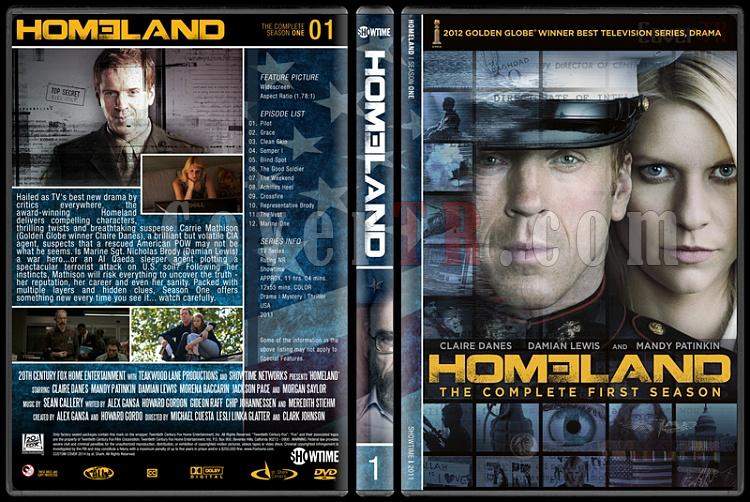 Homeland (Seasons 1-3) - Custom Dvd Cover Set - English [2011-?]-s1jpg