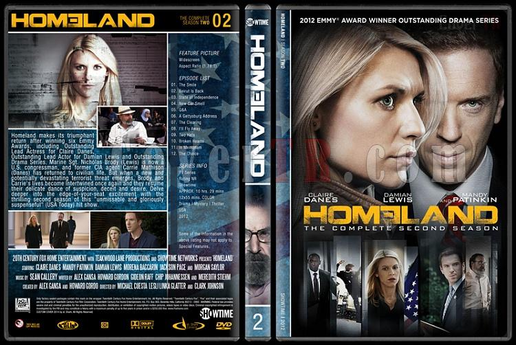 Homeland (Seasons 1-3) - Custom Dvd Cover Set - English [2011-?]-s2jpg
