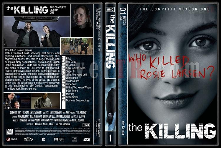 The Killing (Complete Series) - Custom Dvd Cover Set - English [2011-2014]-s1jpg