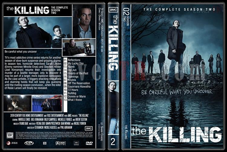 The Killing (Complete Series) - Custom Dvd Cover Set - English [2011-2014]-s2jpg