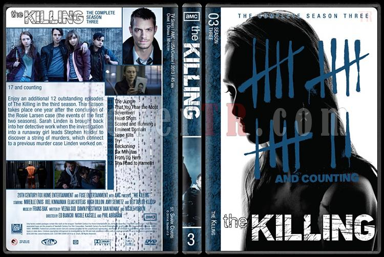 The Killing (Complete Series) - Custom Dvd Cover Set - English [2011-2014]-s3jpg