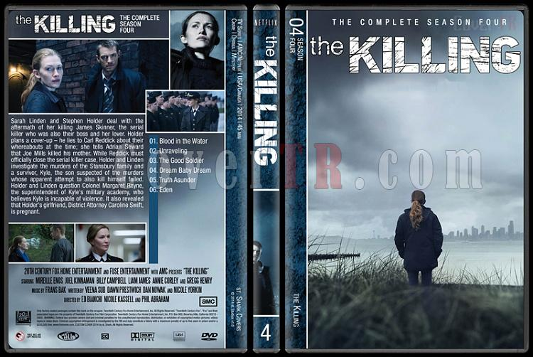 The Killing (Complete Series) - Custom Dvd Cover Set - English [2011-2014]-s4jpg