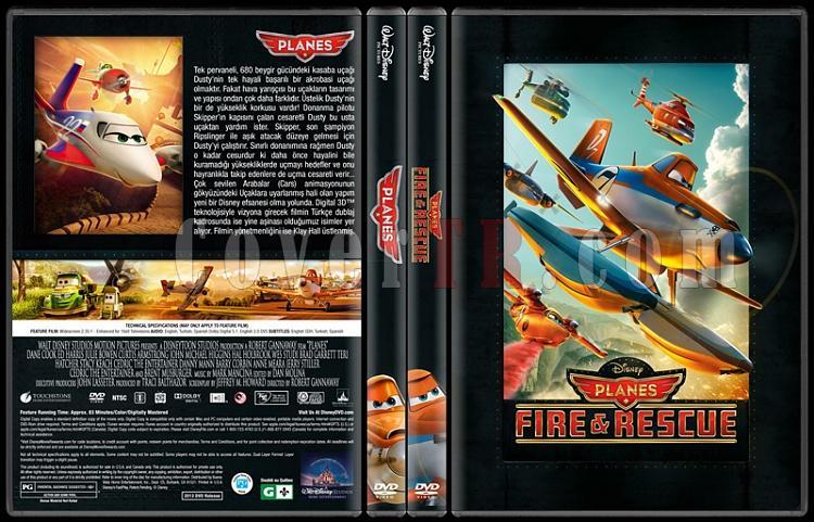 Planes Collection (Uçaklar Koleksiyonu) - Custom Dvd Cover - Türkçe [2013 - 2014]-standard-2-season-flatjpg