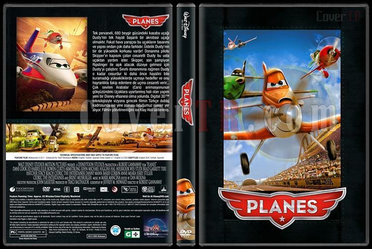 Planes Collection (Uçaklar Koleksiyonu) - Custom Dvd Cover - Türkçe [2013 - 2014]-1jpg
