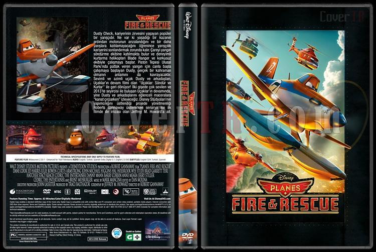 Planes Collection (Uçaklar Koleksiyonu) - Custom Dvd Cover - Türkçe [2013 - 2014]-2jpg