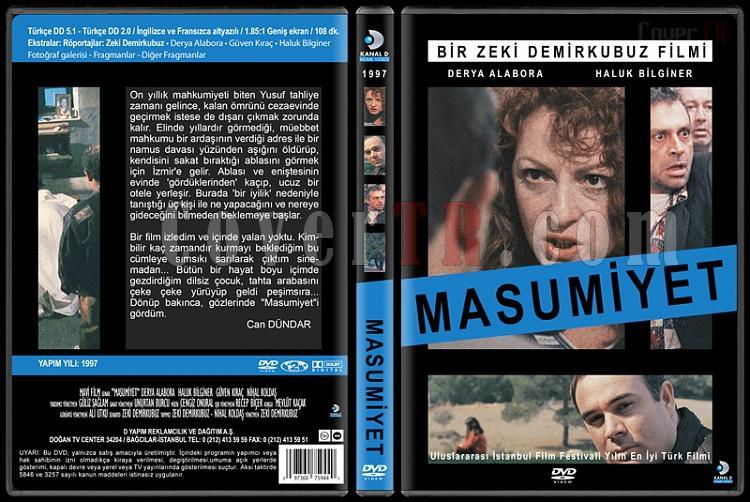 Türk Dram Filmleri Koleksiyonu - Custom Dvd Cover Set - Türkçe [1978-2013]-masumiyet-1997jpg