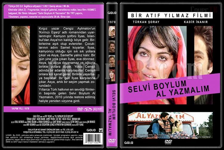Türk Dram Filmleri Koleksiyonu - Custom Dvd Cover Set - Türkçe [1978-2013]-selvi-boylum-al-yazmalim-1978jpg