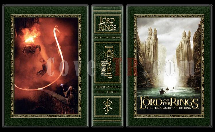 The Lord of the Rings Collection - Custom Dvd Cover Set - English [2001-2003]-alpha-lotr-fotrjpg