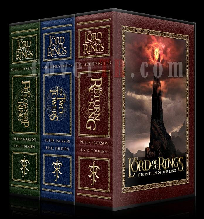 The Lord of the Rings Collection - Custom Dvd Cover Set - English [2001-2003]-spnp-3661x2175jpg