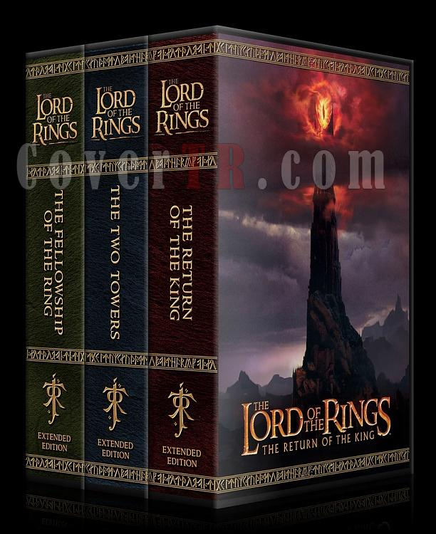 The Lord of the Rings Collection - Custom Dvd Cover Set - English [2001-2003]-spine-3520x2175-jpg