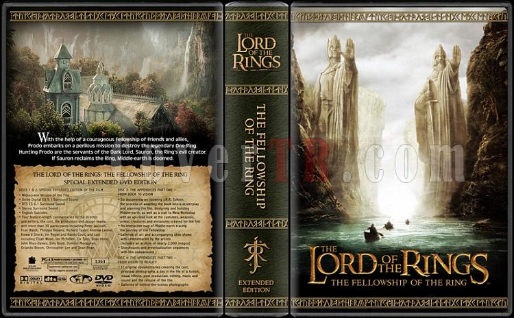 The Lord of the Rings Collection - Custom Dvd Cover Set - English [2001-2003]-fotrjpg